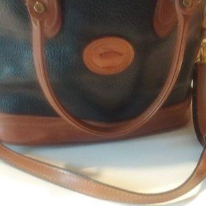 """Vintage dooney Bourke handbag or shoulder bag 13""""w"""